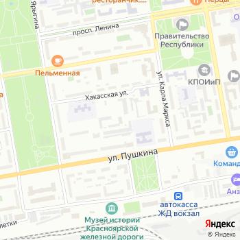 Абаканское парковое хозяйство на Яндекс.Картах