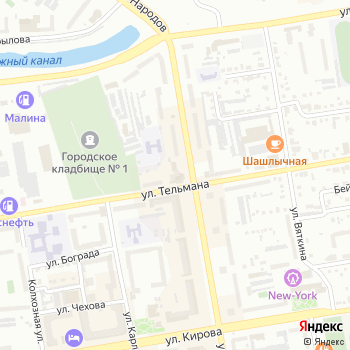 Абаканская картинная галерея на Яндекс.Картах