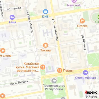 Абаканский на Яндекс.Картах