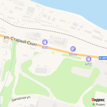 Пункт технического осмотра на Яндекс.Картах