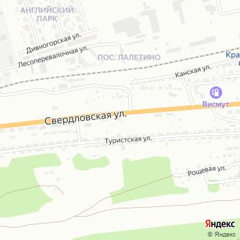 Почта с индексом 660054 на Яндекс.Картах