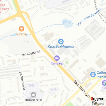 Redday на Яндекс.Картах