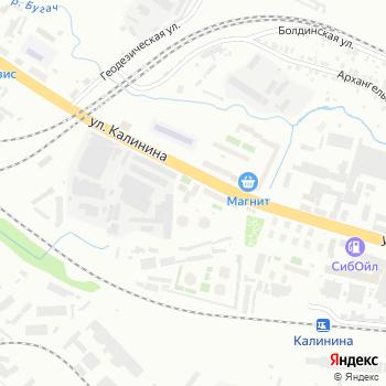 Почта с индексом 660061 на Яндекс.Картах