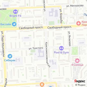 Веснушки на Яндекс.Картах