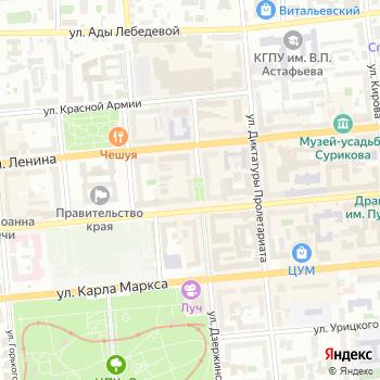 Почта с индексом 660017 на Яндекс.Картах