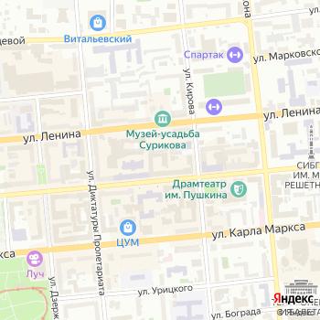 Маска на Яндекс.Картах