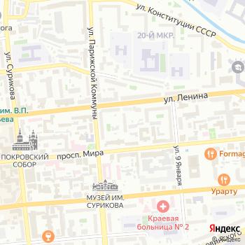 Кремлевский на Яндекс.Картах