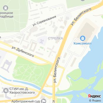Почта с индексом 660032 на Яндекс.Картах