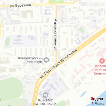 Почта с индексом 660022 на Яндекс.Картах