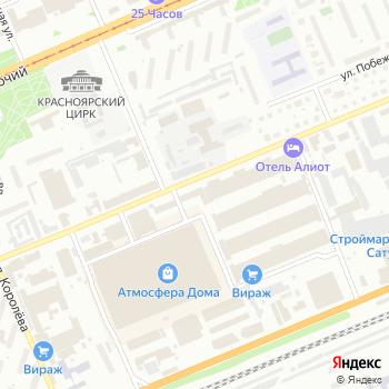 А-Инж на Яндекс.Картах