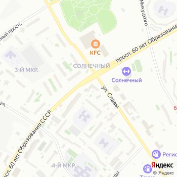 Сибирь на Яндекс.Картах