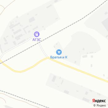 Братья и К на Яндекс.Картах
