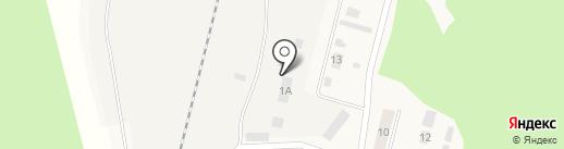Аэрофлекс на карте Вихоревки