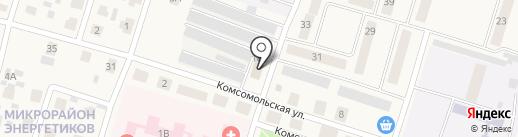 Энергогарант, ПАО на карте Вихоревки