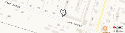 Вихоревка-2 на карте Вихоревки