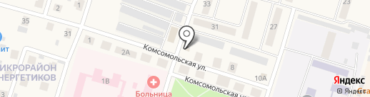 Солод да Хмель на карте Вихоревки