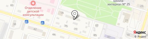 АВТОДОК на карте Вихоревки