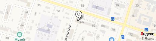 Магазин автозапчастей для ГАЗ, УАЗ на карте Вихоревки