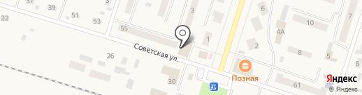 Магазин бытовой техники на карте Вихоревки