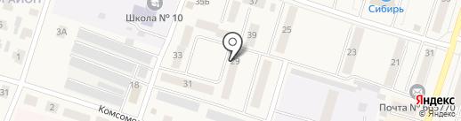 Дом детского творчества на карте Вихоревки