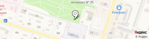 Лаванда на карте Вихоревки