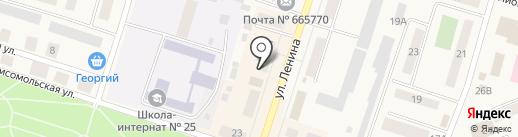Росювелирторг на карте Вихоревки