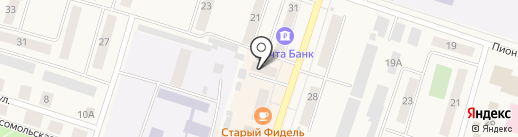 СОГАЗ-Мед на карте Вихоревки