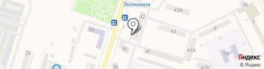 Суши Ё на карте Вихоревки