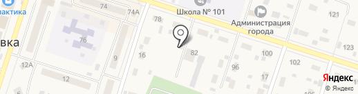 Людмила на карте Вихоревки