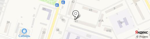 Вихоревская РКЦ на карте Вихоревки