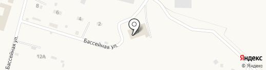 Бассейн на карте Вихоревки