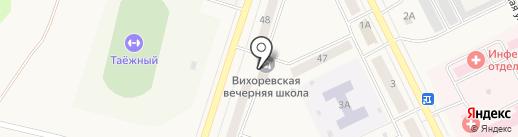 Мировые судьи Братского района на карте Вихоревки