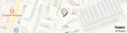 Мастерок на карте Вихоревки