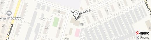 Буфет на карте Вихоревки