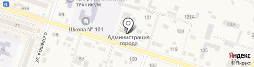 ЗАГС Братского района на карте Вихоревки