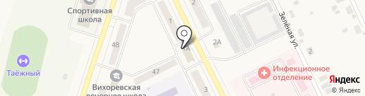 Базис Проект на карте Вихоревки