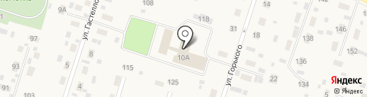 Сосновые родники на карте Вихоревки