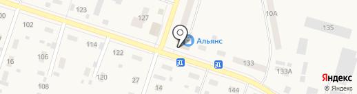 Аптечный пункт на карте Вихоревки