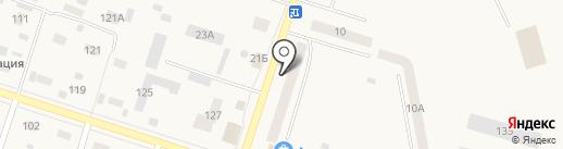 ПаН Разливан на карте Вихоревки