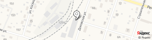 Финтэко на карте Вихоревки