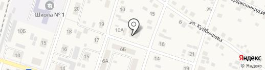 Магазин автозапчастей на карте Вихоревки
