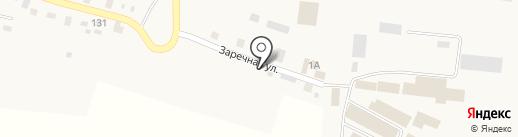Исправительная колония №25 на карте Вихоревки