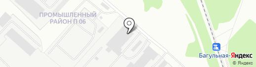 Братский завод мобильных конструкций на карте Братска