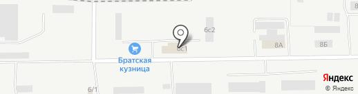 ПромМеталл на карте Братска
