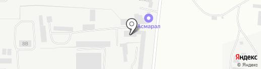 Братск-Профиль на карте Братска