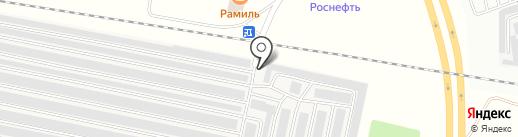 Перевозчик на карте Братска