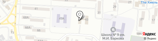 Центр занятости населения г. Братска на карте Братска