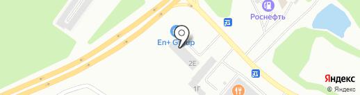 Гриффин на карте Братска