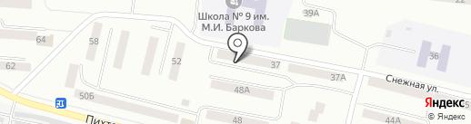 Аргус Ко на карте Братска