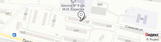 Народная на карте Братска